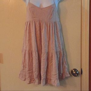 American Eagle soft pink dress